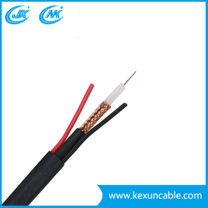 China Factory 75 Ohm Rg59 Coaxial Cable for CCTV Security camera Surveillance System
