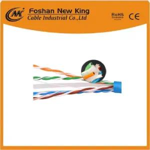 FTP UTP Cable Cat5 Network Cable LAN Cable 0.50mm Bc 4 Twisted-Pair Black Color
