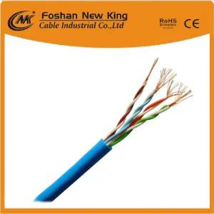 Factory 0.4mm, 0.45mm, 0.5mm Bc/CCA Conductor UTP /FTP Cat5e LAN Cable Newwork Cable