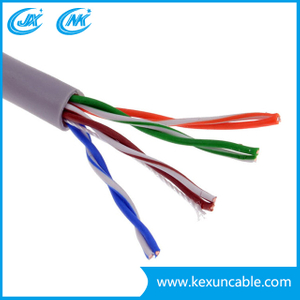 Good Price UTP Cat5e LAN Cable Network Cable 4pairs 305m/Box Made in China