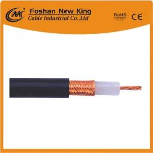 50 Ohm Drop Cable Rg8 Coaxial Cable with PVC Black Jacket and Ce/CPR/ISO/RoHS Approvals