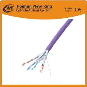 China Factory 305m Pass Test Indoor PVC Jacket 4 Pair UTP/FTP CAT6 Network LAN Cable