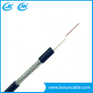 China Factory Rg59 Security Cable for Surveillance Camera Monitoring with F Compression Connector