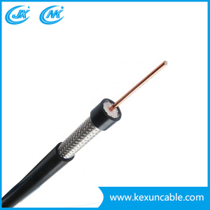 Coxaial Cable Rg11 with Messenger (Rg11+M) for Trunk Line CATV/CCTV System