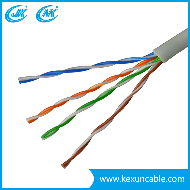 UTP/FTP Cat 5e Network Cable LAN Cable computer Cable with CCA Conductor 4 Pairs