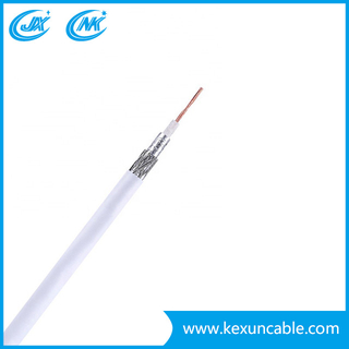 China Manufacture Rg59 Coax/Coaxial Cable Wire with CCS Conductor for Monitoring or Security System