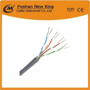 UTP/FTP Cat5e 4 Pair 24AWG computer Cable Network Cable for Indoor Used Packed in 305meters