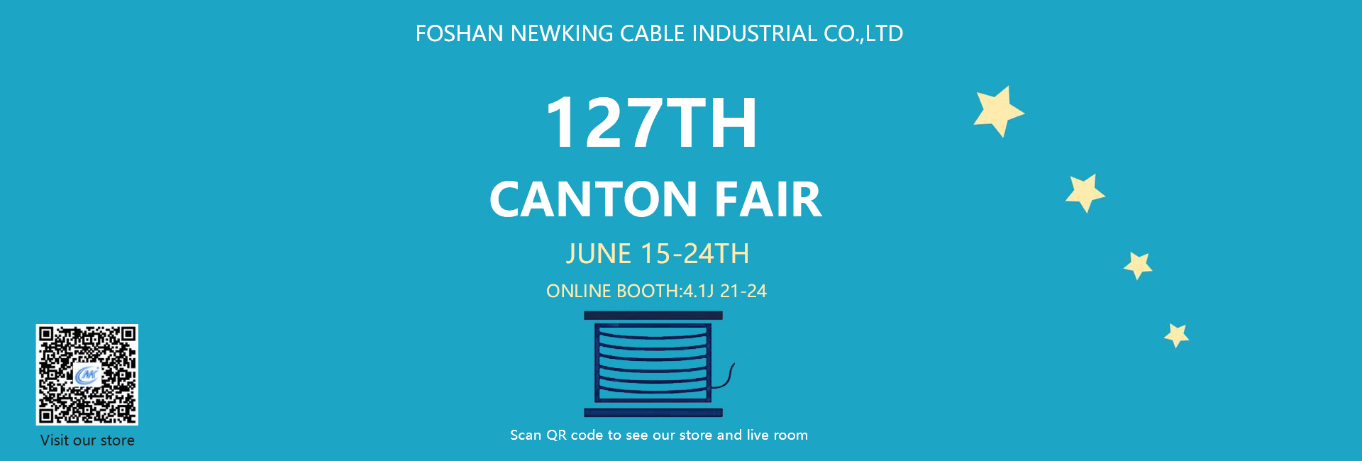 Online Canton Fair: Newking Is Ready