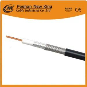 Communication Cable RG6 Coaxial Cable for CCTV CATV Antenna Satellite with Cu/CCS/CCA Conductor