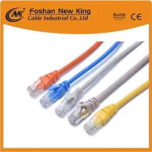 Network Computer Ethernet UTP Cat5 LAN Cable Patch Cord Cable 4X2X24AWG CCA/Bc Conductor