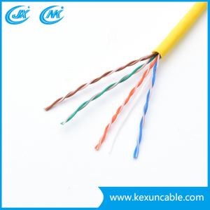 UTP FTP Cat5e LAN Cable Network Cable with Outdoor Single Sheath for Digital Communications