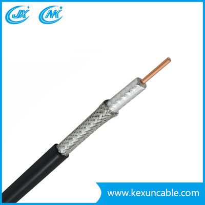 Standard Shield Cu/CCS CCTV Cable RG6 with Power Cable for CCTV/CATV System