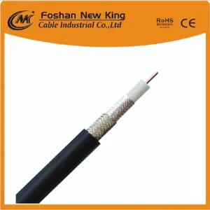 RG6 Coaxial Cable for CCTV CATV Satellite with Jelly (Flooding Compound)
