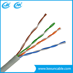 Network Manufacturer 4 Pair 24AWG 305m UTP FTP SFTP Indoor Outdoor Used Cat5 Cat5e CAT6 LAN Cable
