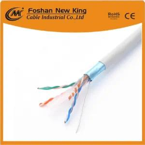 China LAN Cable Supplier 24AWG Cat5e UTP 23AWG CAT6 Network Cable
